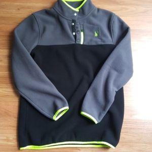 NWOT Spyder pullover polar fleece jacket